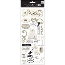 mambiSTICKS Embellishments, Mr. & Mrs. Stickers