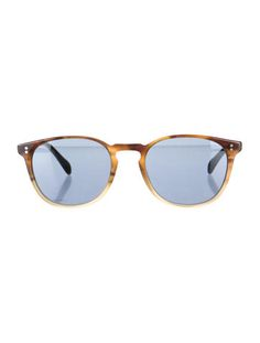Men's Brown and Tan Oliver Peoples Tinted Finley Esq. Sunglasses #CocktailClub #BoysNightOut