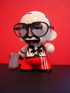 Urban Vinyl Designer Toy #Toy #Design #Vinyl #Urban #Pop #Munny #Kidrobot