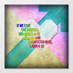 Love Perfected Stretched Canvas by Peter Gross - $85.00
