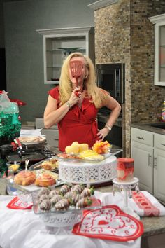 Having fun in the kitchen is always in order with Darcy. www.darcydiva.com