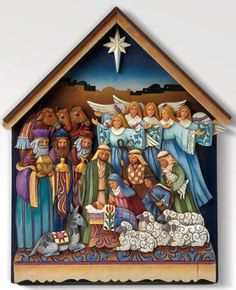 Nativity Sets by Jim Shore, Karen Hahn, Kim Lawrence, Mama Says