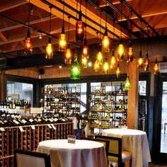 bar with wine bottle fixtures | 2013 neue sellingamerica Jahrgang glasflasche pendelleuchte Rotwein ...