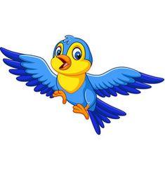 Cartoon happy little bird flying vector Free Vector Images, Vector Free, Bird Flying, Preschool, Projects To Try, Royalty, Cartoon, Disney Characters, Happy