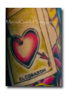 Loteria Tattoo photo by Marina Castillo Photography