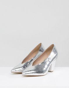 2bbecf3fff Discover Fashion Online Pointed Heels, Silver Heels, Pump Shoes, Block Heels,  Crocs. ASOS