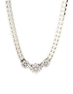 Warehouse Statement Flower Collar Necklace