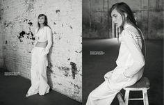 visual optimism; fashion editorials, shows, campaigns & more!: dorothea barth jorgensen by christopher ferguson for l'officiel mexico june 2015