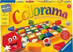 Ideal para que los más pequeños aprendan formas geométricas y colores http://www.lacasadelaeducadora.com/productos-y-servicios/colorama