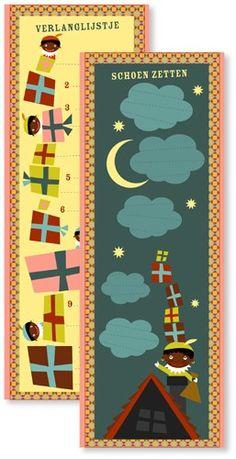 Sinterklaas #verlanglijstje en kalender voor #schoenzetten