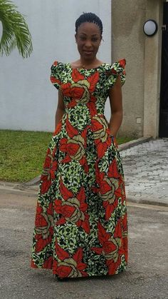 Call SMS or WhatsApp 2348144088142 if you want this style needs a skilled tailor to hire or you want to expand more on your fashion business. African Fashion Designers, African Fashion Ankara, African Inspired Fashion, Latest African Fashion Dresses, African Print Fashion, Africa Fashion, Long African Dresses, African Print Dresses, Ankara Dress Designs