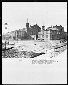 Um 1870 Schlesischer Bahnhof
