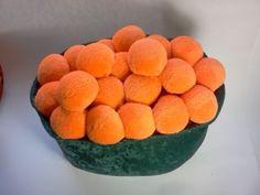Sushi Pillow Ikura Salmon Egg Caviar Plush Pillow 11 x 8 x 11 inches