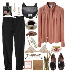 """""""""""Untitled #85"""" by loveliness-ccv ❤ liked on Polyvore featuring GG 750, Rachel Comey, Pringle of Scotland, Karl Lagerfeld, Marni, AMOUAGE, Herbivore, Nest, Oliver Peoples and LIST"""