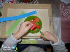 Enfant 3 ans Plateau découpage