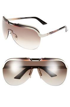 Christian Dior 'Solar' Shield Sunglasses
