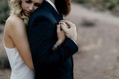 boho Arizona desert elopement