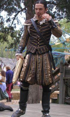Elizabethan court gentleman