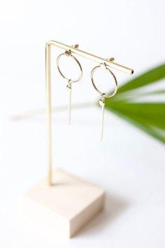 CHLOE Stud earrings display Earrings stand Earrings | Etsy