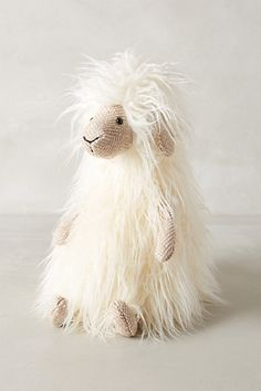 This just makes me giggle doesn't it Tricia! Sheldon Sheep Stuffed Animal - anthropologie.com