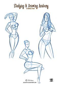 Character design Pin Up by celaoxxx.deviantart.com on @deviantART
