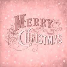Image result for pink vintage christmas
