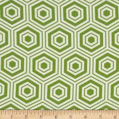 Bella Hexagons Green