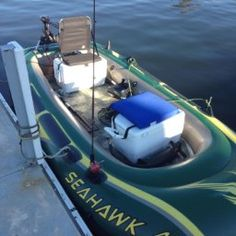 Diy intex seahawk 4 inflatable custom bass boat mod for Blow up boat for fishing