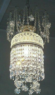 Crystal Chandelier Lighting Mid Century Modern Tiered Crystal Cut Lead Ice Glass Hanging Ceiling Pendant Lamp Weding Retro Kinkeldey style