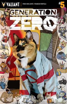 Valiant Outdoes Marvel With Cat Cosplay Variant Covers