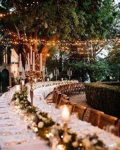 Tuscany Wedding Table Setting | Reception Styling | Photo: Life Stories Wedding