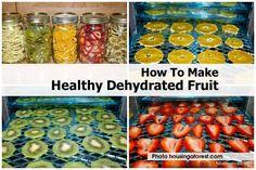 DIY Healthy and Delicious Dried Fruit | UsefulDIY.com Follow Us on Facebook == http://www.facebook.com/UsefulDiy