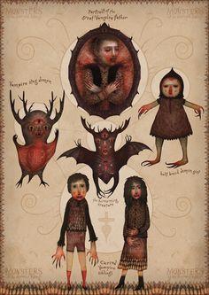 Monsters of the Doomed Village by V-L-A-D-I-M-I-R.deviantart.com on @deviantART