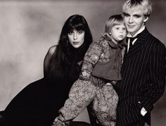 Nick Rhodes and family