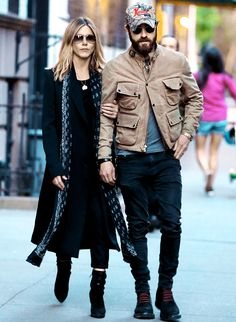 Jennifer Aniston and Justin Theroux Coordinate for a Low-Key N.Y.C. Date Night from InStyle.com