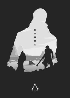 Assassin's Creed Hidden Blade, Assassin's Creed Wallpaper, Assassins Creed Rogue, Artistic Wallpaper, Gaming Posters, Art Of Man, Minimalist Poster, Print Artist, Game Art