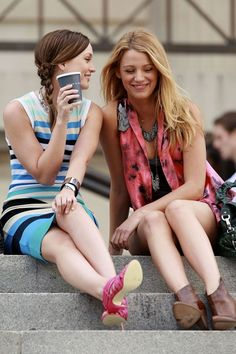 Gossip Girl, what would Serena & Blair wear…(one main reason why I would watch the show)