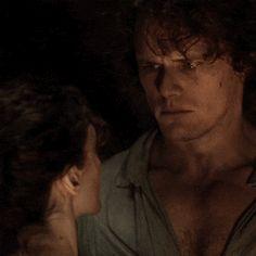 Outlander Gifs, Outlander Season 4, Outlander Casting, Outlander Tv Series, Sam Heughan Outlander, Sam Heugan, Star Wars, Out Of My Mind, Caitriona Balfe