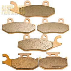 2008-13 Front Middle and Rear Brake Pads For YAMAHA Rhino 700 FI YXR700