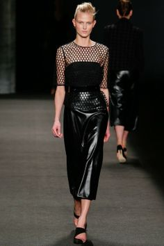 Monique Lhuillier Herfst/Winter 2014-15 / New York