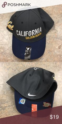 d36e738f7 California Cal Golden Bears Nike Flex Fit Hat Cap Brand new with tags  officially licensed California