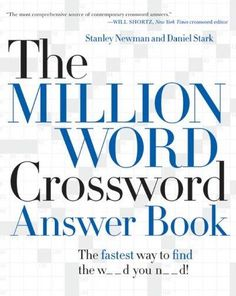 Crossword solver crossword answers solutions crossword help the million word crossword answer book fandeluxe Image collections