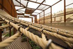 Expo Milão 2015: Pavilhão do Brasil / Studio Arthur Casas + Atelier Marko Brajovic | Pavilion | Metal Structure | Corten Steel | Textil Cover | Textil Floor Detail |