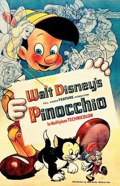 PINOCCHIO (1940) Is there any question why, had to see it 50 times, remember?