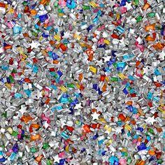 "Bakery Bling ""Unicorn Remix"" Glittery Sugar sprinkle mix"
