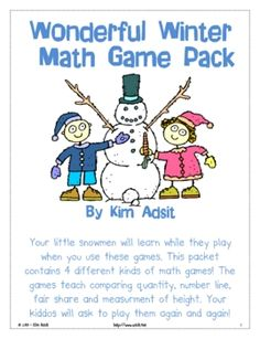 Your little snowmen will learn while they play when you use these ...