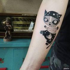 www.instagram.com... #tattoo #tatuaz #tattoowork #project #design #ink #inked #graphic #tattuaggio #btattooing #tattuaje #illustration #татуировка #тату #krakow #berlin #wroclaw #warszawa #prague #praha #tetovani #tätowierung #tatuajes #panakota #littletattoos #cat #cattattoo #marine