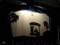 Педагогический опыт Рождество Вырезание Теневой театр Бумага фото 1