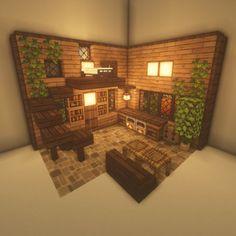 Minecraft Bauwerke, Construction Minecraft, Minecraft House Plans, Minecraft Mansion, Minecraft Cottage, Easy Minecraft Houses, Minecraft House Tutorials, Minecraft House Designs, Minecraft Decorations