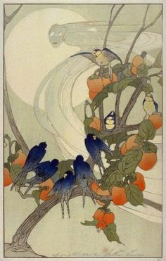 Bertha Lum: woodblock